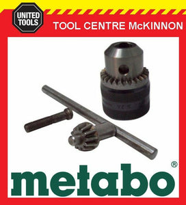 "METABO 13mm ALL METAL 3/8""-24 UNF KEYED CHUCK – MADE IN GERMANY"