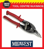 MIDWEST LEFT CUT AVIATION TIN SNIPS – MADE IN USA