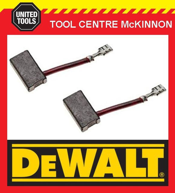 GENUINE DEWALT 381028-08 CARBON BRUSHES – SUIT DW703, DW708, DW717, DW718 ETC