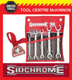 SIDCHROME METRIC & A/F STANDARD, 440 SERIES, GEARED, FLARE & LARGE SPANNER SETS