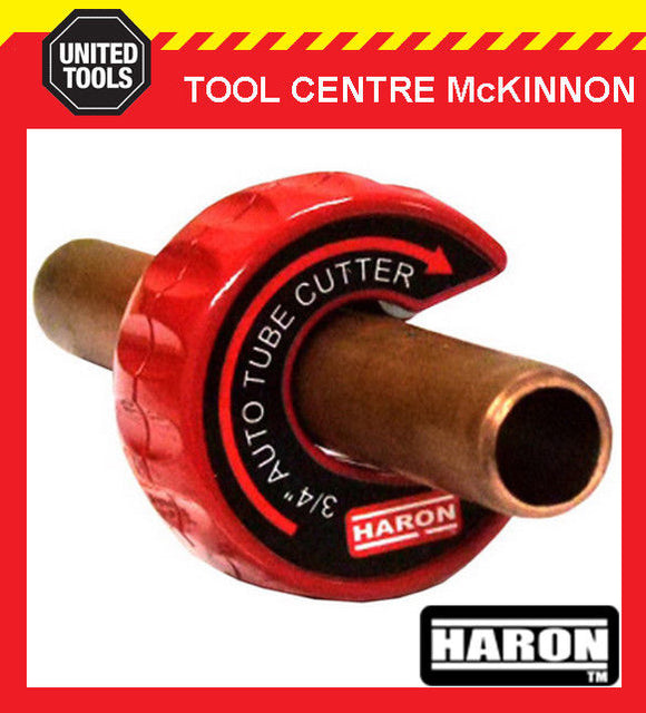 "HARON TAC19 3/4"" AUTOMATIC COPPER PIPE AND TUBE CUTTER"