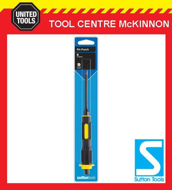 SUTTON TOOLS 6mm PIN PUNCH WITH SOFT GRIP HANDLE