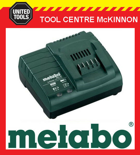 METABO ASC 30 18V Li-ION 30 MINUTE BATTERY CHARGER – 627059000