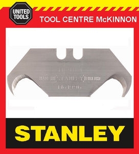 10 x STANLEY LARGE HOOK / HOOKED UTILITY KNIFE BLADES – 2x5 PACK
