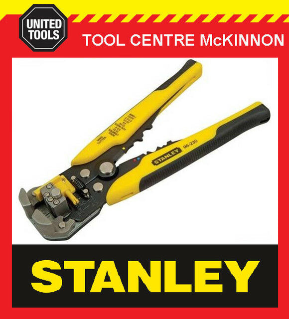 STANLEY FATMAX FMHT0-96230 AUTOMATIC WIRE STRIPPER & CRIMPER