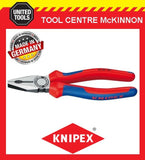 KNIPEX 03 02 180 180mm COMBINATION PLIERS – MADE IN GERMANY
