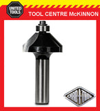 "CARB-I-TOOL / CARBITOOL T 916 B 45 DEGREE x ½"" TCT CHAMFERING ROUTER BIT"