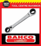 BAHCO S4RM REVERSIBLE RATCHET RING SPANNER – 30/32/34/36mm
