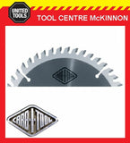 "CARBITOOL 12"" 100 TOOTH 30mm BORE NEGATIVE RAKE ALUMINIUM CUTTING SAW BLADE"