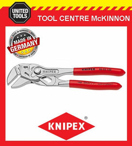 KNIPEX 86 03 150 150mm 27mm CAPACITY ADJUSTABLE PLIERS WRENCH – MADE IN GERMANY