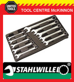 STAHLWILLE 13/10 KT 8 – 19mm 10pce METRIC COMBINATION SPANNER SET – 96400808