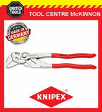 KNIPEX 86 03 250 250mm 46mm CAPACITY ADJUSTABLE PLIERS WRENCH – MADE IN GERMANY