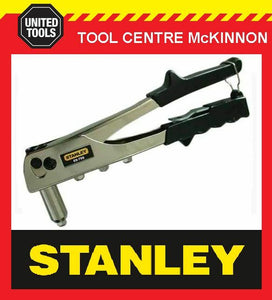 "STANLEY 66-799 HEAVY DUTY POP RIVET GUN WITH 3/32"", 1/8"", 5/32"" & 3/16"" NOSES"