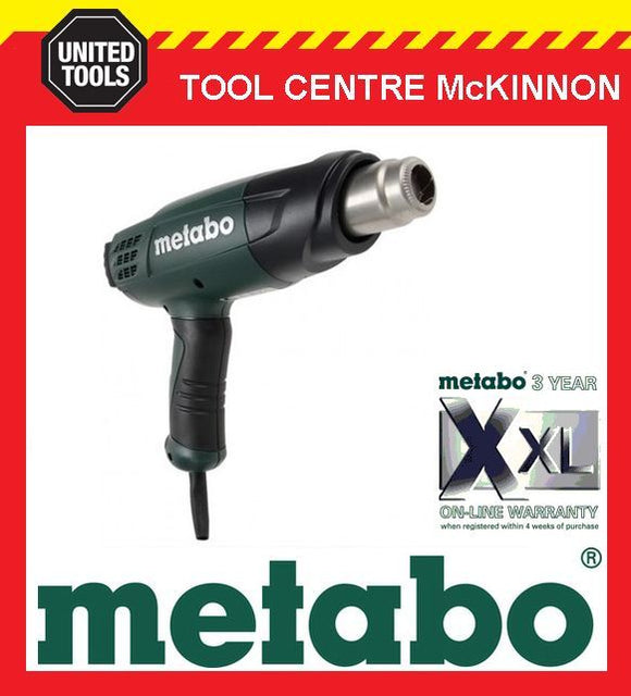 METABO HE 20-600 2000W 3 SPEED / VARIABLE TEMPERATURE HOT AIR / HEAT GUN