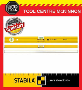 STABILA 600mm / 2ft 80A/60 BOX FRAME TRADE 2-VIAL SPIRIT LEVEL