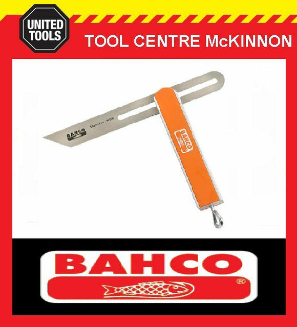 BAHCO 9574-250 250mm ALUMINIUM SLIDING BEVEL WITH STAINLESS STEEL BLADE