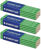 36  x STAEDTLER 148 50 HARD CARPENTER'S PENCILS