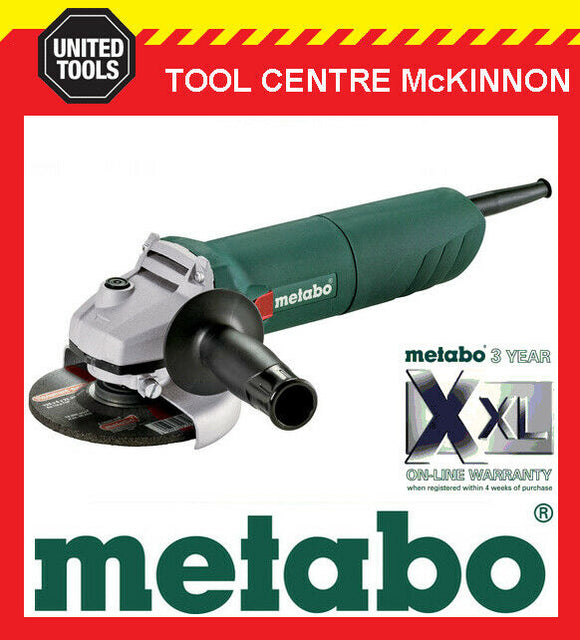 "METABO W1100-125 5"" / 125mm 1100W ANGLE GRINDER – 601237190"