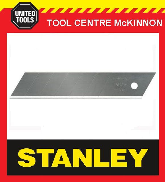 10 x STANLEY FAT MAX 25mm SNAP-OFF SNAP KNIFE BLADES