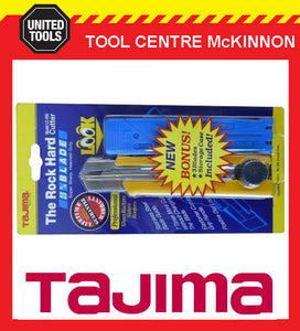 TAJIMA LC-650 ROCK HARD DIAL LOCK 25mm SNAP KNIFE WITH BONUS BLADES