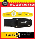 "STABILA TYPE 81S REM 25cm / 10"" MAGNETIC TORPEDO SPIRIT LEVEL WITH POUCH"