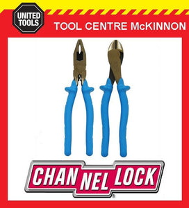 CHANNELLOCK / CHANNEL LOCK 1000V INSULATED 2pce PLIER SET– 3238 & 3248
