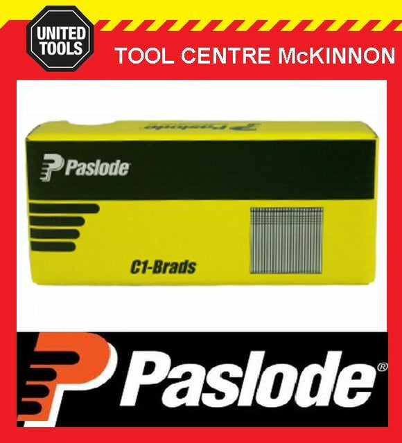 PASLODE 25mm C1 / CI SERIES 18 GAUGE GALVANISED BRADS / NAILS – BOX OF 5000