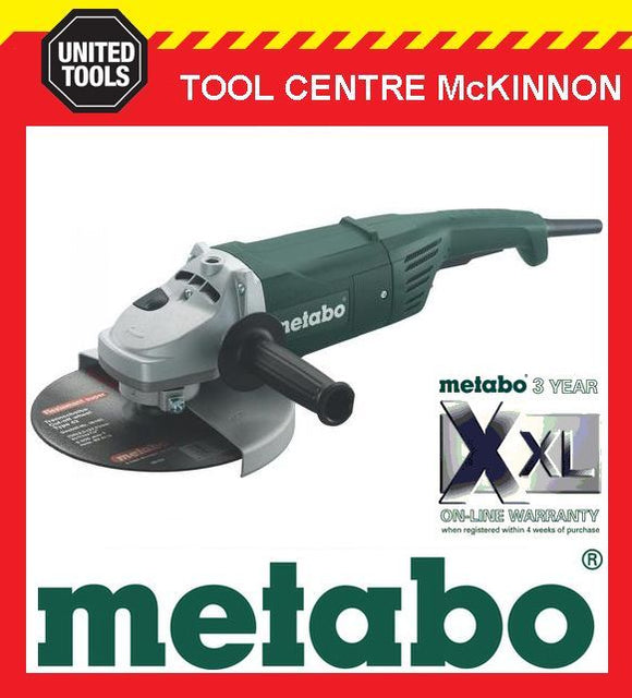 "METABO W2000 9"" / 230mm 2000W ANGLE GRINDER"