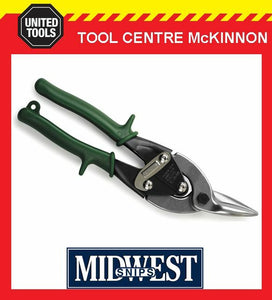 MIDWEST RIGHT CUT AVIATION TIN SNIPS – MADE IN USA