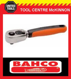 "BAHCO 1/4"" SQUARE DRIVE 60 TEETH SHORT REVERIBLE RATCHET – SUIT SBSL25 & SL25"