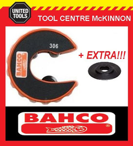 BAHCO 306-12 12mm AUTOMATIC PIPE & TUBE CUTTER WITH SPARE CUTTING WHEEL!