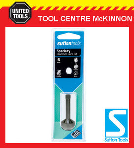 SUTTON 6mm DIAMOND CORE HOLESAW FOR TILES PORCELAIN & BRICK – SUIT M14 GRINDER