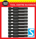 10 x SUTTON IMPACT HEX 5mm x 50mm POWER INSERT SUPABIT BITS FOR IMPACT DRIVERS