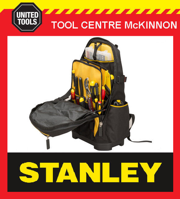 STANLEY FATMAX 1-95-611 50-POCKET TOOL BACK PACK BAG / ORGANISER