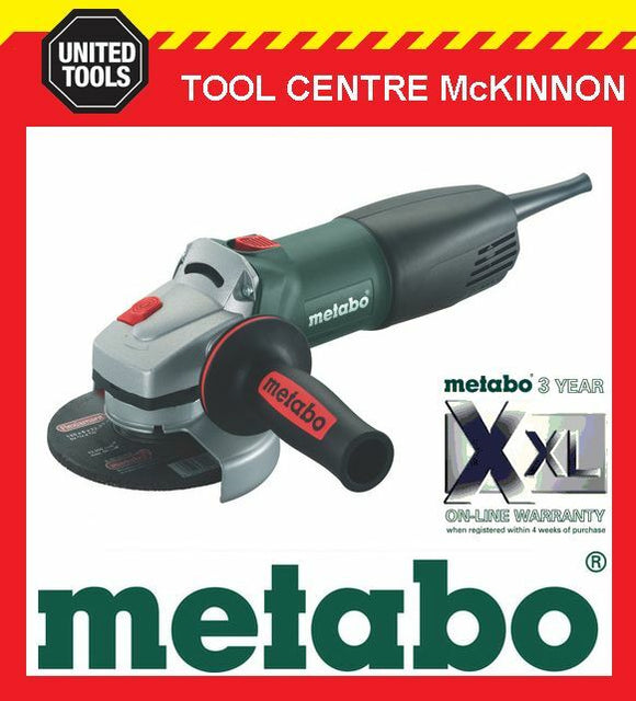 "METABO WQ-1000 5"" / 125mm 1010W ANGLE GRINDER WITH QUICK NUT – MADE IN GERMANY"
