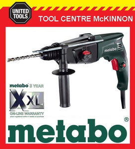 METABO KHE 2444 800W 3-MODE SDS PLUS ELECTRONIC COMBINATION ROTARY HAMMER DRILL