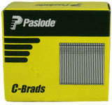 PASLODE 50mm C SERIES 16 GAUGE 304 STAINLESS STEEL BRADS / NAILS – BOX OF 2000