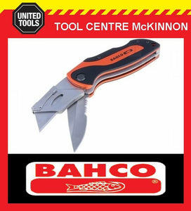 BAHCO KBTU-01 FOLDING TWIN BLADE SPORTS LOCKBACK UTILITY / STANLEY KNIFE