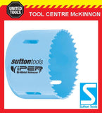 "SUTTON VIPER 83mm (3-1/4"") BI-METAL HOLESAW FOR WOOD & METAL - 32mm DEPTH"