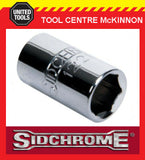 "SIDCHROME SOCKETS - 1/4"" DRIVE A/F TORQUEPLUS STANDARD - ALL SIZES AVAILABLE"