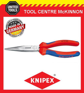 KNIPEX 26 12 200 200mm SNIPE / LONG NOSE PLIERS – MADE IN GERMANY