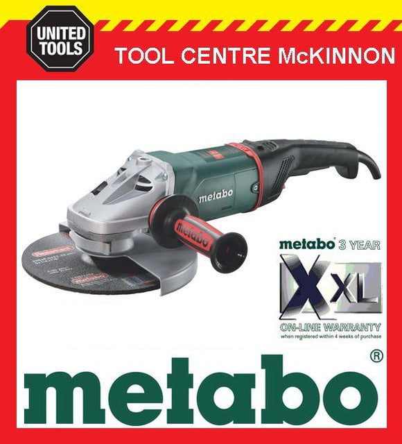 "METABO W24-230 MVT 9"" / 230mm 2400W ANTI-VIBE ANGLE GRINDER – MADE IN GERMANY"