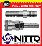 GENUINE NITTO JAPANESE MADE QUICK CUPLA AIR FITTINGS & CLAMPS - VARIOUS SIZES