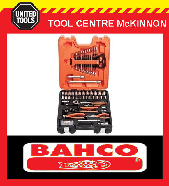 "BAHCO S81MIX 81pce METRIC ¼"" & ½"" SOCKET, SPANNER AND PLIER SET"