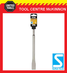 P&N BY SUTTON TOOLS 250mm x 25mm SDS PLUS ROTARY HAMMER COLD CHISEL BIT