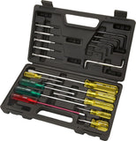STANLEY 20pce ALL PURPOSE SCREWDRIVER AND ALLEN KEY SET IN CARRY CASE