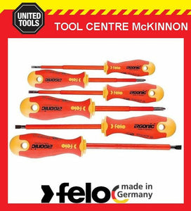 FELO 41396198 ERGONIC 6pce 1000V VDE SCREWDRIVER SET – MADE IN GERMANY