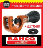 BAHCO 302-35 8-35mm PIPE & TUBE CUTTER WITH 2 SPARE CUTTING WHEELS!