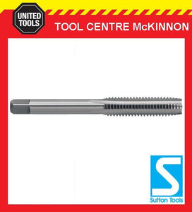 "SUTTON 1/4"" x 28TPI UNF TUNGSTEN CHROME HAND TAP FOR THROUGH HOLE TAPPING"