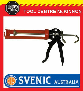 SVENIC HEAVY DUTY NON DRIP CAULKING GUN – MADE IN ENGLAND